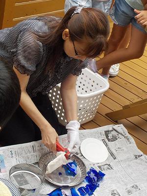 リサイクル・ガラス・アート体験教室