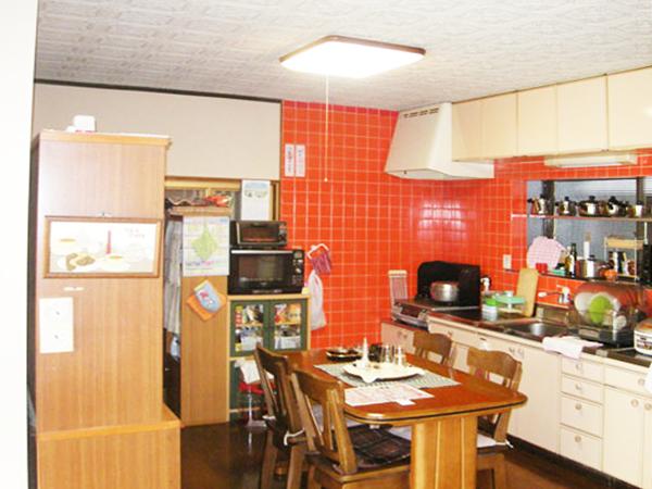 滋賀県犬上郡多賀町 キッチン、リビング内装改修 施工前