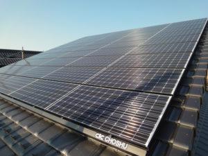 太陽光発電パネル設置 施工事例