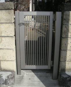 門扉・グレーチングのリフォーム