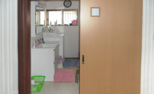 洗面脱衣室と浴室のリフォーム