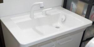 洗面台とトイレの交換