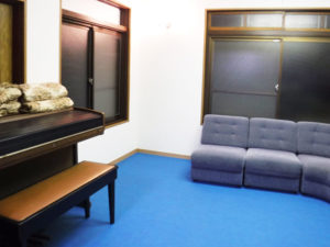 ピアノが似合う、落ち着いたお部屋に。