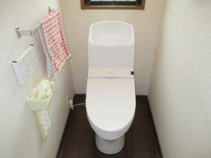 新しいトイレは気持ちがいい!