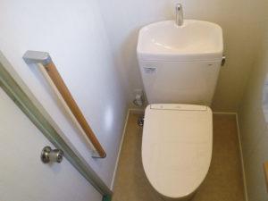 安全に配慮してトイレのリフォーム