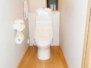 トイレと床のリフォーム