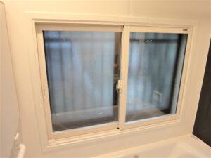 浴室窓に内窓取付
